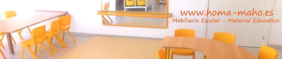 Equipamiento para Guarderias - Mobiliario para Centro Educacion Infantil