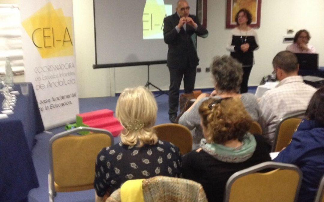 Presentación y firma de acuerdo con Coordinadora de Escuelas Infantiles de Andalucia. Seguimos Adelante!!!